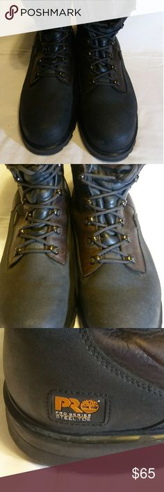 Timberland Pro Series Work Boots Great quality, genuine leather, steel toe, very good condition Timberland Pro Series Shoes Boots