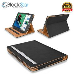 "Executive Multi Function Leather Standby Case for Apple New iPad 9.7"" #MOFRED"