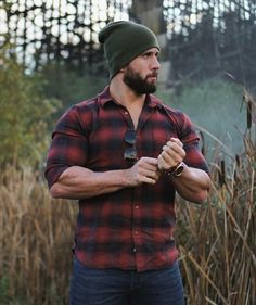 Julian Smith, Stylish Men, Men Casual, Hot Country Men, Lumberjack Style, Scruffy Men, Handsome Man, Beautiful Men Faces, Cowboy Outfits
