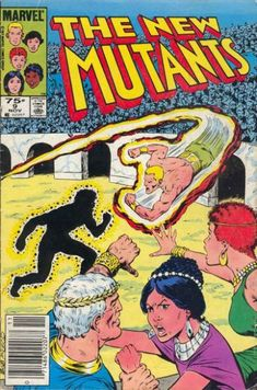 New Mutants #9. 1st app. of Selene The Black Queen.