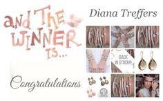 And the winner is: Diana Treffers ✔ Van harte gefeliciteerd! Jij wint een Pscallme armband! Stuur je adresgegevens naar: mail@sonjabakker.nl www.sonjabakker.nl