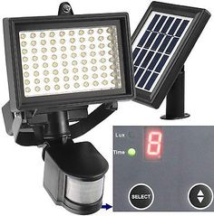 2 x30W PIR Sensor LED Flood Light Outdoor Wall Landscape Garden Warm White Lamp