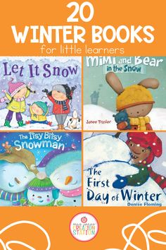 Fill your classroom libraries with these fun winter themed books. Perfect for preschool, pre-k and kindergarten readers, use these books for your winter literacy units, place them in your libraries or send them home with your learners to read at home! #reading #winter #books #literacy Holiday Activities For Kids, Valentines Day Activities, Toddler Activities, Learning Activities, Classroom Libraries, First Day Of Winter, Easter Traditions, Little Learners, Early Literacy