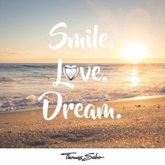 SMILE, LOVE, and DREAM with #sterlingsilver #thomassabo