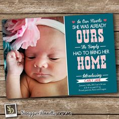 Metallic Dots: Soft Pink - Winter Girl Birth Announcements in Soft ...