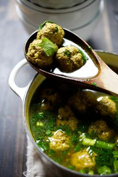 Have you ever tried making meatball soup? Middle Eastern flavors infuse this…