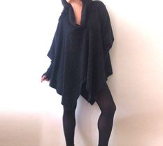 Etsy listing at https://www.etsy.com/listing/164093845/wide-loose-sweater-winter-tunic