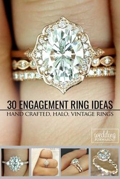 30 Utterly Gorgeous Engagement Ring Ideas ❤️ We hope these perfect engagement ring ideas inspire you to make a right choice. See more: http://www.weddingforward.com/engagement-ring-inspiration/ #wedding #ring #engagement