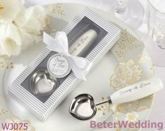 """ cucharada de amor"" inoxidable- acero cuchara de helado BETER-WJ075      http://es.aliexpress.com/item/BeterWedding-TH014-Palm-Tree-Favor-Box-138pcs-used-as-Wedding-gift-and-wedding-favor-wedding-decoration/611424775.html #regalos #regalo #favores #artesanía"