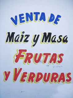 mexican stucco lettering