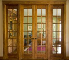 Internal French Doors With Frame Main Entrance Door Design, Front Door Design, Window Design, Internal Glazed Doors, Internal French Doors, Wooden Door Design, Wooden Doors, Wood Fireplace Surrounds, Double Doors Exterior