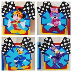 Mickey And The Roadster Racers Coloring Page Birthday