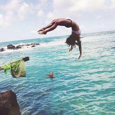 """@gypsy_beach's photo: """"Be free!! GYPSYBEACH.COM  #acaciaswimwear #love #luckywelivehi #gypsy #gypsylife #gypsybeach"""""""