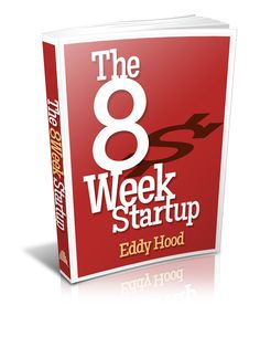 """Book cover design for """"The 8-Week Startup"""" 
