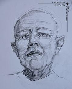 students works Portrait Sketches, Art Sketches, Sketch Ideas, Human Art, Anatomy, Novels, Students, Portraits, Ink