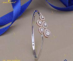 Mens Diamond Bracelet, Diamond Bracelets, Diamond Jewelry, Bangle Bracelets, Jewelry Necklaces, Bangles, India Jewelry, Jewellery Designs, Metal Jewelry