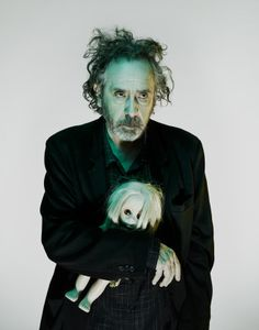 Tim Burton, photographed in London in September 2014. Photograph by Nadav Kander.
