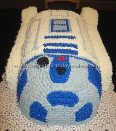How to Create an Awesome Star Wars Birthday Cake - so many great ideas here and some are even easy to do! Description from pinterest.com. I searched for this on bing.com/images
