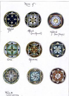 heraldry from deviant art -- I'm trying to find out whose