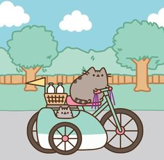 There's nothing like a summertime stroll with Pusheen! Sign up today at www.pusheenbox.com! #PusheenBox