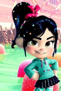 """ Vanellope Von Schweetz (&Wreck-it Ralph) iPhone wallpapers, feel free to use (: (you can find more wallpapers here) "" Wallpaper Iphone Disney, Cute Disney Wallpaper, Cute Cartoon Wallpapers, Kawaii Disney, Cute Girl Hd Wallpaper, Bear Wallpaper, Wreck It Ralph, Frozen Poster, Vanellope Y Ralph"
