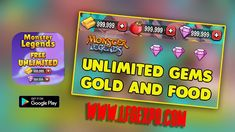 Monster Legends Hack - Cheats That Works - Unlimited Gems and Gold Monster Squad, Monster Games, You Monster, Hacks, Monster Legends Game, Zero The Hero, Dragon City, Surreal Photos, Private Server