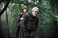 Travelling Game of Thrones Style: Bran and Hodor in Northern Ireland. Photo by BSkyB
