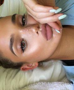 Love her lips! @linerandbrowsss