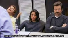 You can really cut through the office bullshit.   23 Signs You're The April Ludgate Of Your Workplace