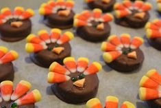 These little cookies will be a hit at your Thanksgiving feast.  They are almost too cute to eat.  My kids love to help me and create a fam...