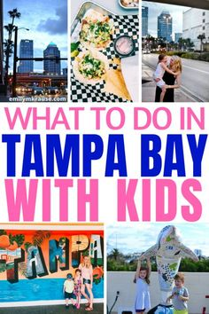 What to do in Tampa Bay with kids. Tampa travel guide for families. Tampa Bay Florida, Clearwater Florida, Visit Florida, Florida Vacation, Florida Travel, Vacation Trips, Naples Florida, Beach Travel, Kissimmee Florida