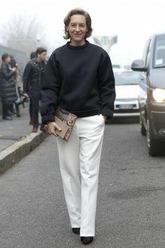 Street Style: 22 Stylish Ladies at Men's Fashion Week in Milan - FLARE