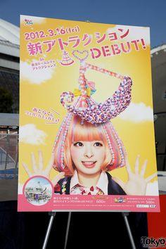 Kyary Pamyu Pamyu at Tokyo Dome City