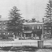 The Main Building of the Asylum for Destitute Children in Randwick,in eastern Sydney (year unknown).