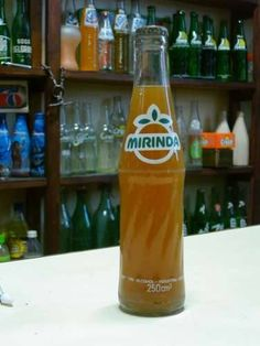 "Mirinda . I grew up with ""un pie aca y un pie alla"", with one foot here and one…"