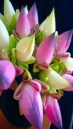 Learn how to make beautiful DIY fake flower arrangements for home decor. Artificial flowers are cheap and can be used to make simple and beautiful floral designs. Very Beautiful Flowers, Unusual Flowers, Amazing Flowers, Bright Flowers, Fake Flowers, Fresh Flowers, Artificial Flowers, Fake Flower Arrangements, Flower Phone Wallpaper