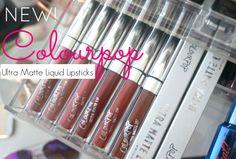 NEW colour pop Liquid lipstick ultra matte trap tulle slow bumble midi limbo review swatches