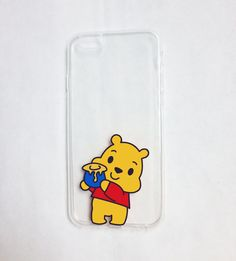 Winnie the Pooh phone case - iPhone 6 case clear- iPhone 6 case - iPhone 6s case - Disney iPhone 6 case - Clear phone case - Kawaii case sold by Mint Corner. Shop more products from Mint Corner on Storenvy, the home of independent small businesses all over the world.