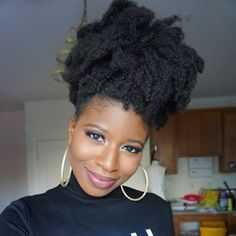 """4C hair is NOT cute."" 