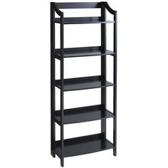 Clifton Tall Folding Shelf - Rubbed Black x x Home Office Furniture, Furniture Sale, Accent Furniture, Discount Furniture, Living Room Furniture, Apartment Furniture, Apartment Living, Furniture Ideas, Unique Home Decor