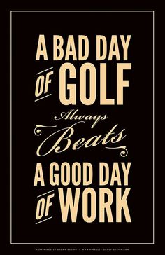 Bad Day Of Golf Digital Art by Mark Brown