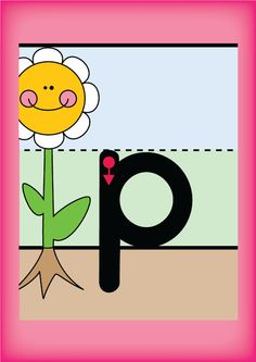 Lets Learn P - alphabet letter sound of the week freebie