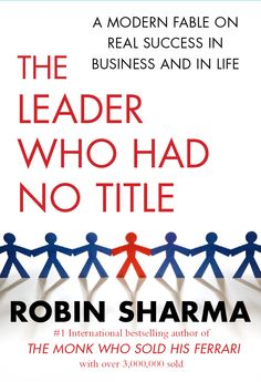 Author: Robin Sharma One of the best leadership books that I've ever read. It is a straight forward and simple. Very inspiring. A book for those who want to lead the tribe in this modern information age era.