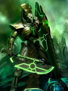 The Lychguard Are Elite Protectors And Emissaries Of Necron Nobility In Order To Serve As A Bulwark Against Those Who Would