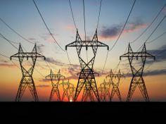 Andrew Gersh - Powerlines at sunrise