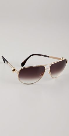 1a91e2adb4f Aviator sunglasses by Oliver McQueen on ShopBop. Alexander Mcqueen  Sunglasses