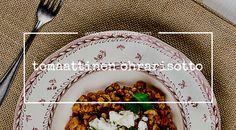 tomaattinen ohrarisotto / Hannan soppa
