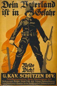 German WW1 Propaganda Poster
