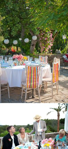 Bright tables, perfect!