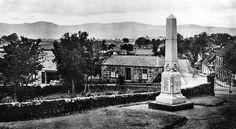 Old photograph of Saline, Fife, Scotland